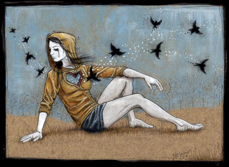 Kelly Halpin Art - For Erica