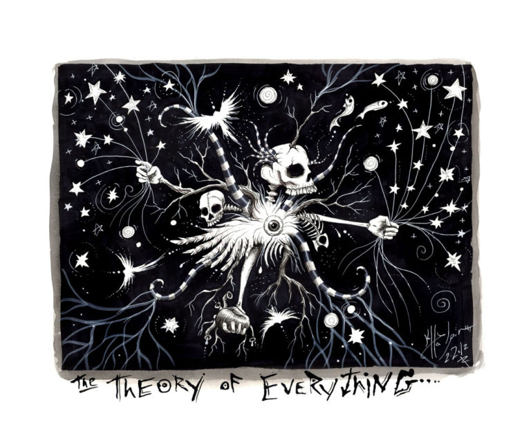 Kelly Halpin Art - Theory of Everything