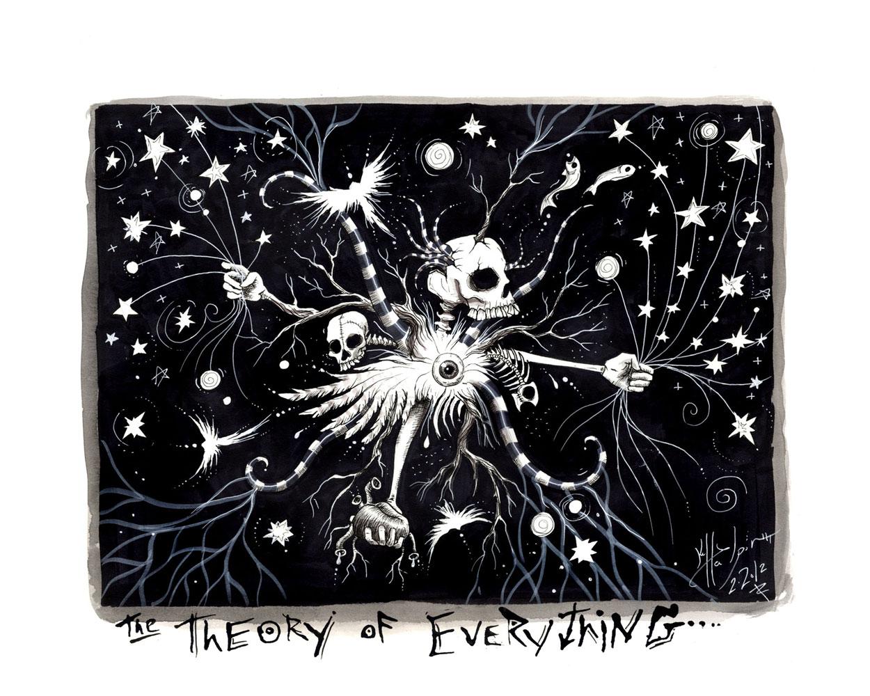 Kelly Halpin Art - Theory of Everything