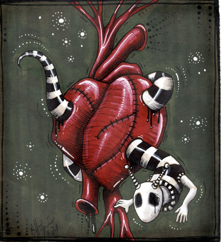 Kelly Halpin Art - Heartworm
